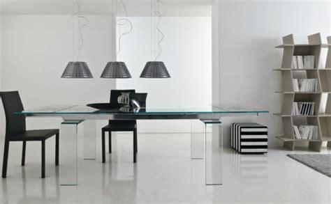 esstisch glas design esstisch aus glas schick und archzine net