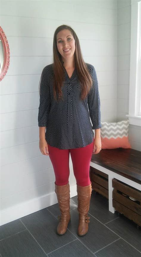 Top Polkadot Another another day another stitch fix whatiheartaboutyou