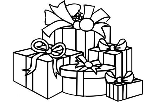 christmas presents coloring sheets search results