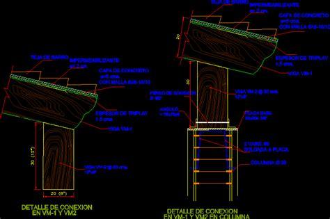 wooden beams  autocad  cad   kb