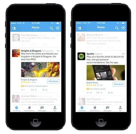 twiter mobile new advertising options to reach mobile users