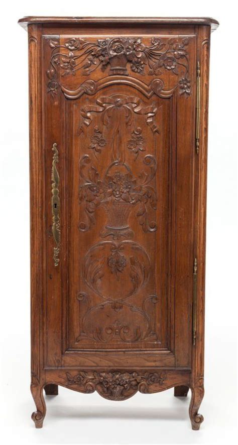 armoires and more a french provincial carved walnut armoire fine
