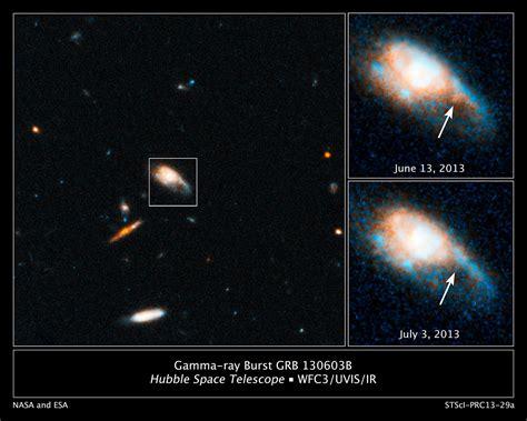 hubble captures infrared glow   kilonova blast esahubble
