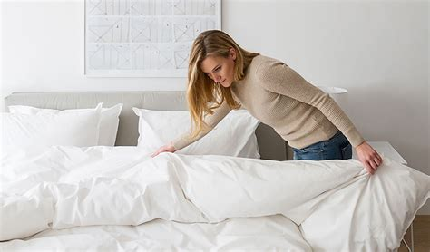 Making Bed With Duvet How To Care For Your Bedding Parachute Blog