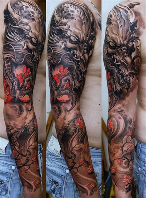 95 awesome examples of full sleeve tattoo ideas sleeve