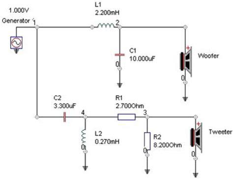resistor in series with tweeter the madisound speaker store