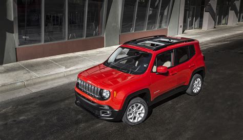 Fiat Jeep 2015 Jeep Renegade Vehicle To Blend Jeep And Fiat Design