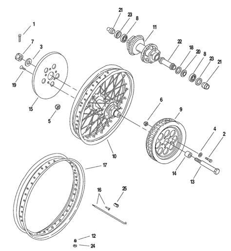 wheel parts diagram harley front wheel embly diagram catalog auto parts