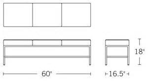 grissini bench grissini bench black design within reach design within reach