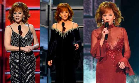reba mcentire s costume changes at acm awards dresses 7 outfit changes reba mcentire nailed as host of the 2018
