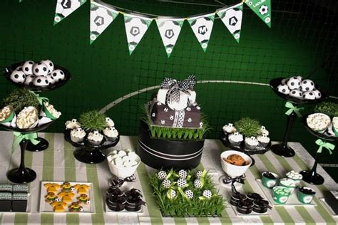 soccer themed birthday decorations decor more soccer themed birthday
