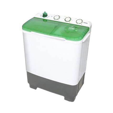 Mesin Cuci Sanken X Tor jual sanken tw 8700 gr hijau mesin cuci 2 tabung 7 kg