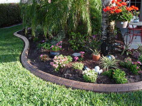 Landscape Ideas Borders Best Lawn Edging Material Driveway Borders Landscape