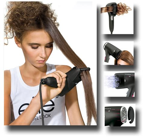 Hair Dryer With Brush Attachment Australia rowenta for elite lissima clip press hairdryer 1800w