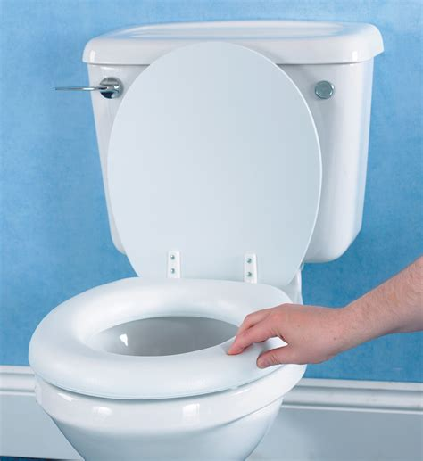 soft raised toilet seat cantre mobility