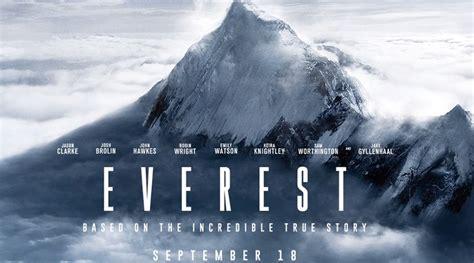 film kisah nyata pendakian gunung review everest sebuah kisah nyata manusia dalam