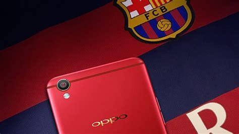 oppo f1 plus barcelona edition resmi diperkenalkan