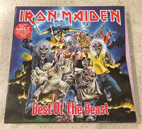 iron maiden best of iron maiden best of the beast vinyl 4 lp box set