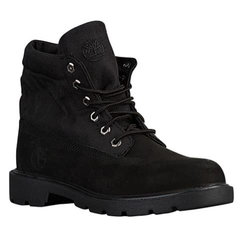 black timberland boots grade school timberland roll top boots boys grade school casual