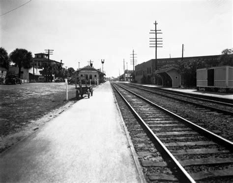 florida memory fec railroad depot melbourne florida