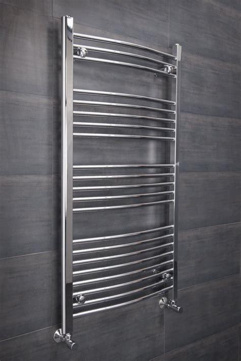white towel rails for bathrooms bathroom heated towel rail radiator curved ladder warmer