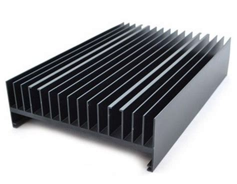 heat sink extrusion pvdf coated aluminum heatsink extrusion profiles