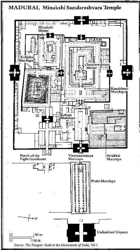 mandir floor plan madurai temple floor plan google search a2 personal study pinterest madurai