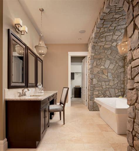stone veneer bathroom bathrooms montana rockworks