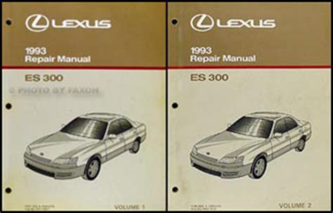 auto manual repair 1994 lexus es parking system search