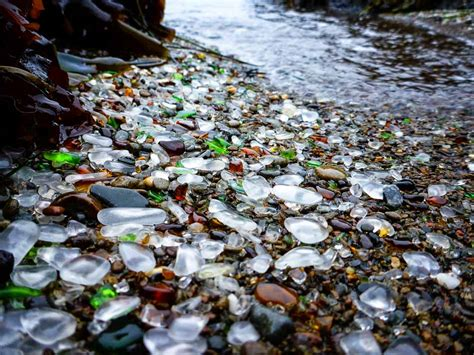 glass beaches glass beach disappearing in ft bragg grindtv