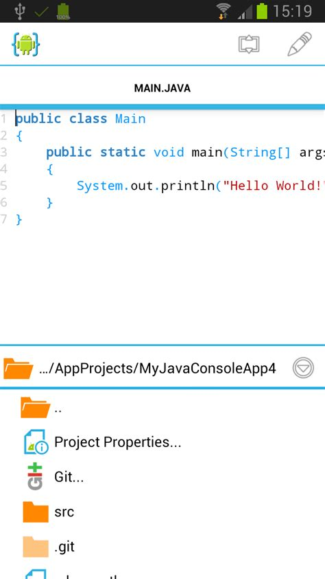 android ide java application tutorial aide android ide