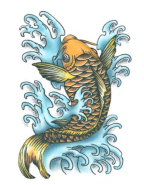 temporary tattoo koi fish koi fish colour temporary tattoo tattooednow ltd