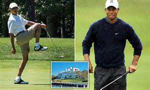 tiger woods golden shower taxpayers shell out nearly 3 6 million for president