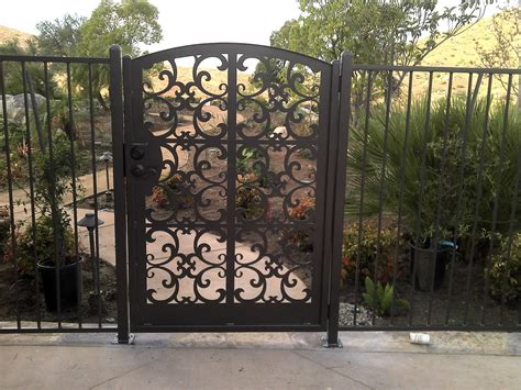 metal backyard gates iron gates metal garden gates for sale