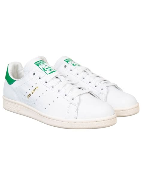 adidas originals stan smith shoes white green adidas