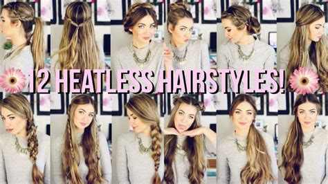 heatless hairstyles for school pinterest 12 heatless hairstyles for back to school beautybyasha