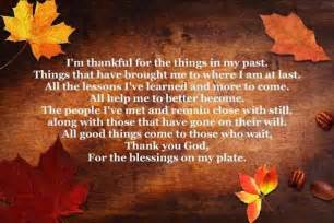 poems on thanksgiving thank you god for the blessings on my plate pictures