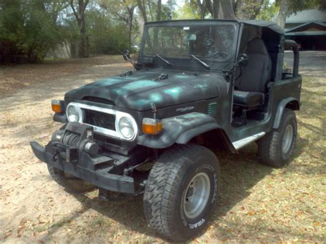 Rugged Suv With Good Gas Mileage 1975 Toyota Fj40 Land Cruiser 4 2l Warn Winch Classic