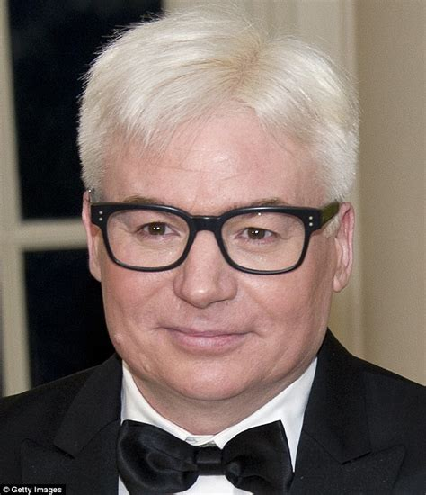 mike a myers mike myers debuts white hair at state dinner in honour of