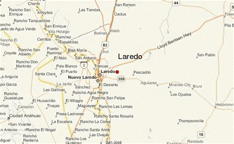 laredo texas map laredo location guide