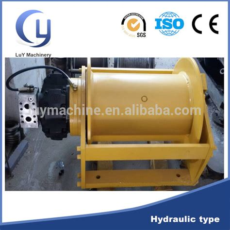 vertical boat winch horizontal vertical pull hydraulic boat anchor winch