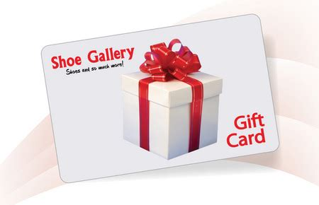 Shoe Gift Cards - shoe gallery shoe gallery gift card accessories