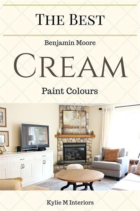 cream paint colours benjamin moore interior