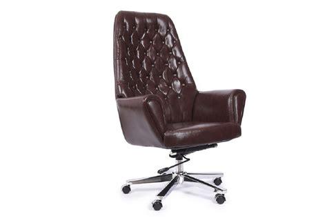 sedia studio poltrona sedia direzionale presidenziale in pelle da