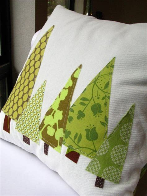 pillow christmas tree forest insert included