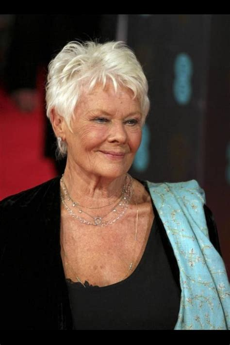 judi dench hairstyle front and back of head judi dench hairstyle related keywords judi dench