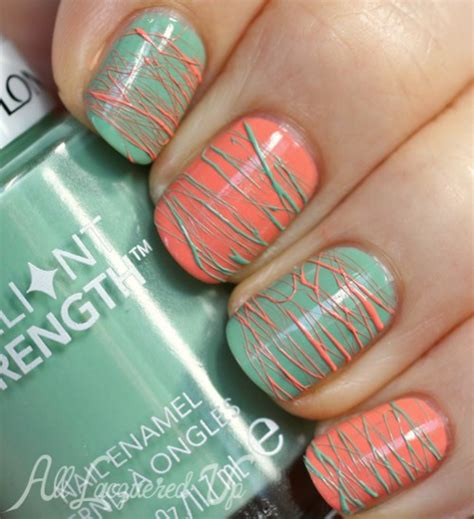 revlon nail art tutorial pinspirationail spun sugar nail art with revlon