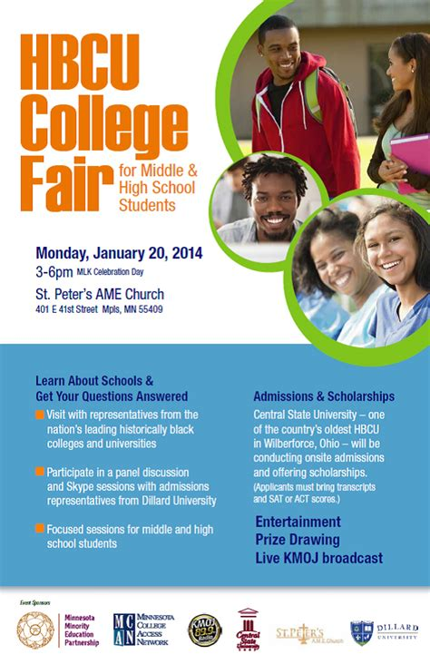 Crater Bis Csb College Fair Flyer Template