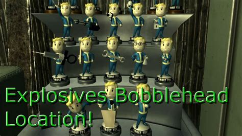bobblehead in saugus ironworks fallout 4 location of explosives bobble saugus
