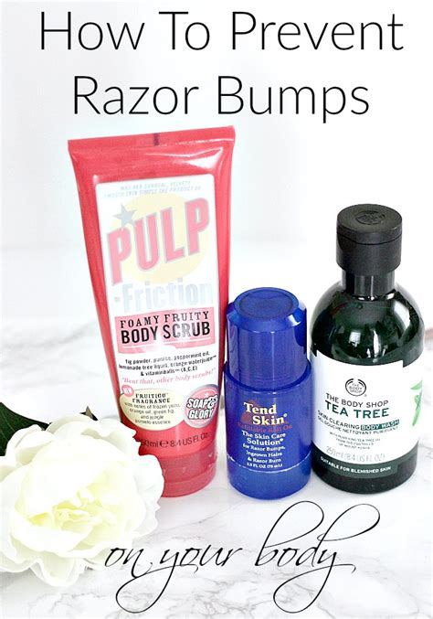 body scrubs to prevent razor bumps how to prevent razor bumps on your body everyday starlet